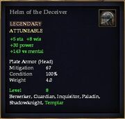Helm of the Deceiver