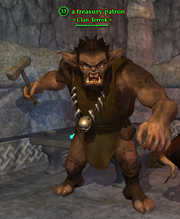 A treasury patron (bugbear)