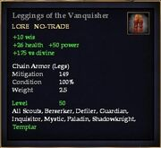 Leggings of the Vanquisher