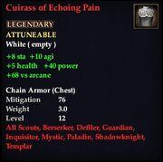 Cuirass of Echoing Pain