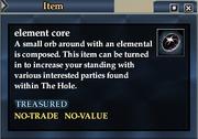 Element core