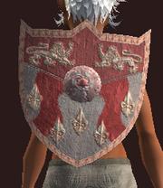 Vulcanized Kite Shield (Equipped)