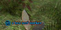 A bee serf worker