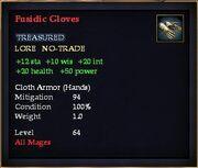 Fusidic Gloves