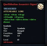 Quellithulian Assassin's Signet