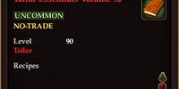 Tailor Essentials Volume 92