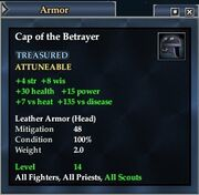 Cap of the Betrayer