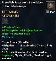 Fiendish Fateseer's Spaulders of the Fatebringer