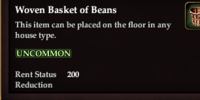 Woven Basket of Beans