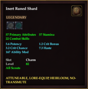 Inert Runed Shard