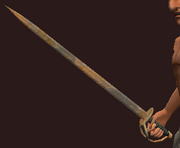 Iron Sabre (Equipped)