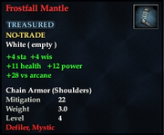 Frostfall Mantle