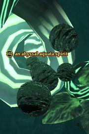 An abyssal aquata spirit