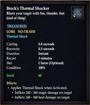 Brocks Thermal Shocker