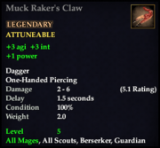 Muck Raker's Claw
