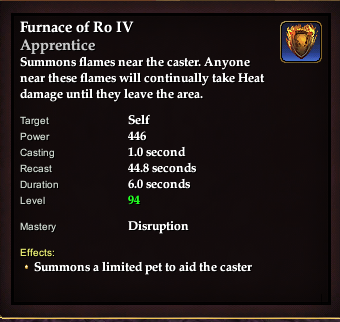 Furnace of Ro IV