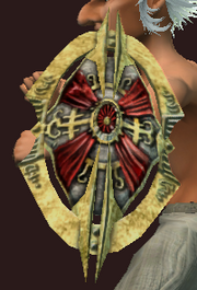 Round Shield of Necrotic Deflection (Equipped)
