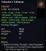 Talendor's Talisman