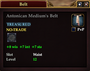 Antonican Medium's Belt