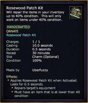 Rosewood Patch Kit