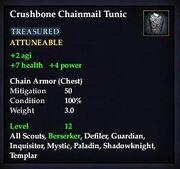 Crushbone Chainmail Tunic