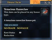 Tenacious Razorclaw