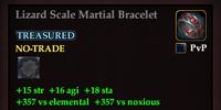 Lizard Scale Martial Bracelet