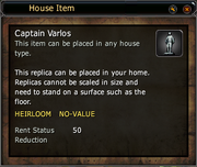 Captain Varlos - Replica