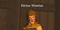 Ferius Mentus