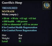 Guerilla's Hoop