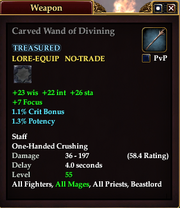 Carved Wand of Divining