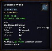 Truesilver Wand