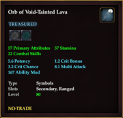 Orb of Void-Tainted Lava