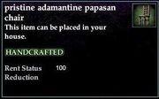 Adamantine Papasan Chair