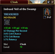 Imbued Veil of the Swamp