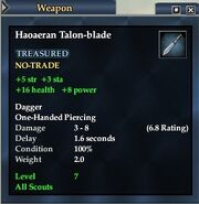 Haoaeran Talon-blade
