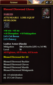Blessed Direwood Gloves