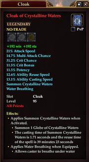 Cloak of Crystalline Waters (Priest)
