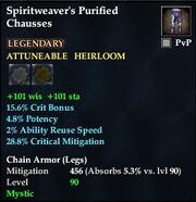 Spiritweaver's Purified Chausses