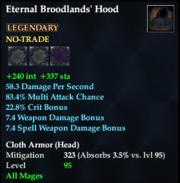 Eternal Broodlands' Hood