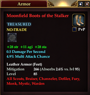 Moonfield Boots of the Stalker