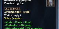 Sharded Leggings of Penetrating Ice