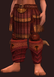 Sacrosanct Pants of the Forest Scion (Equipped)