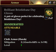 Brilliant Bristlebane Day Gloves