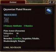 Qeynosian Plated Bracers