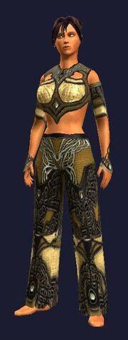 Sathirian Manslayer Leather Gi (Visible, Female)