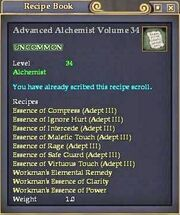 Advanced Alchemist Volume 34
