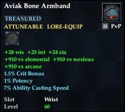Aviak Bone Armband