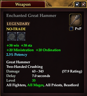 Enchanted Great Hammer