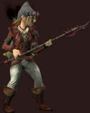 Fyst's Spear of Anguish (Equipped)